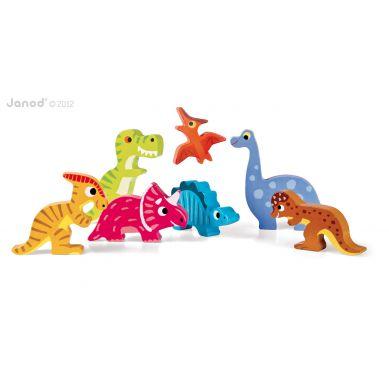 Janod - Układanka 3d Dinozaury