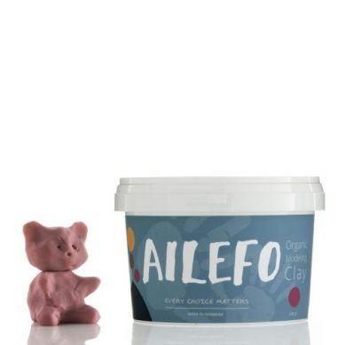 Ailefo - Organiczna Ciastolina Duże Opakowanie Róż 540g