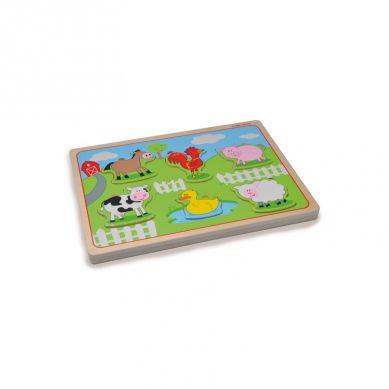 Indigo Jamm - Puzzle z Dźwiękiem Zwierzęta na Farmie