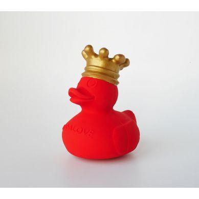 Lullalove - Royal Duck Kaczuszka do Kąpieli z Naturalnego Kauczuku Czerwona