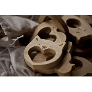 Wooden Story - Drewniany Gryzak Owl