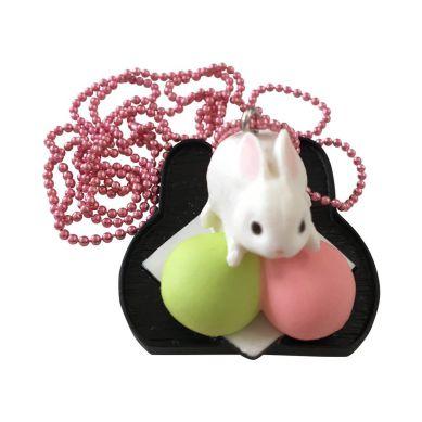 Pop Cutie - Wisiorek Kolekcjonerski Japanese Bunny Pink/green