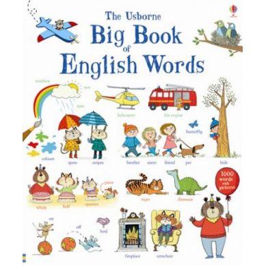 Wydawnictwo Usborne Publishing - Big book of English words