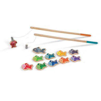 Janod Drewniane Magnetyczne Rybki