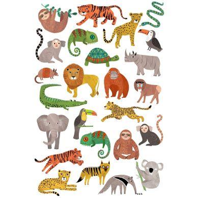 Petit Monkey - Zestaw Tatuaży Jungle Animals
