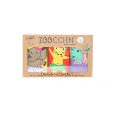 Zoocchini - Majtki Treningowe Dziewczęce Balerina 3-4 lata 3 szt.