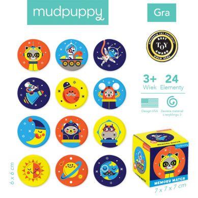 Mudpuppy - Gra Mini Memory Kosmos