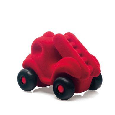 Rubbabu - Wóz Strażacki Sensoryczny Czerwony Mikro