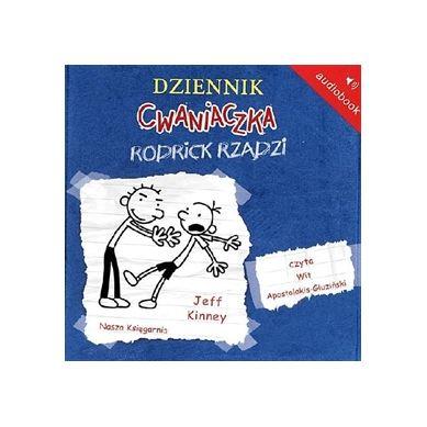 Wydawnictwo Nasz Księgarnia - Audiobook Dziennik cwaniaczka Rodrick Rządzi
