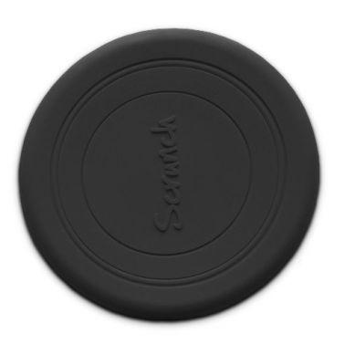 Scrunch - Zwijane Silikonowe Frisbee Czarne