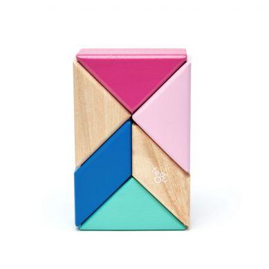 Tegu - Drewniane Klocki Magnetyczne Pocket Pouch Prism Blossom