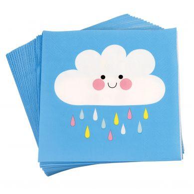 Rex - Serwetki Urodzinowe Happy Cloud
