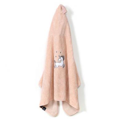 La Millou - Ręcznik Kąpielowy Bamboo Kid by Maja Bohosiewicz Powder Pink Unicorn Sugar Bebe