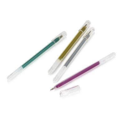 NPW ROW - Zestaw 4 Metalicznych Długopisów