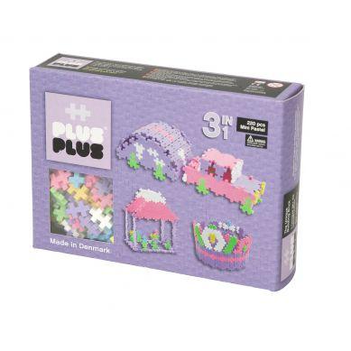 Plus Plus - Klocki Mini Pastel 220 szt. 3w1