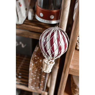 Filibabba - Balon Dekoracyjny 10cm Deeply Red