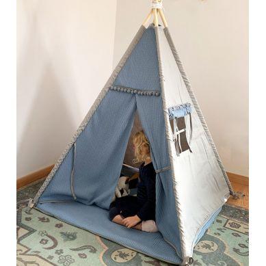 Muzpony - Tipi Amsterdam, Namiot dla Dzieci z Matą Podłogową 1+