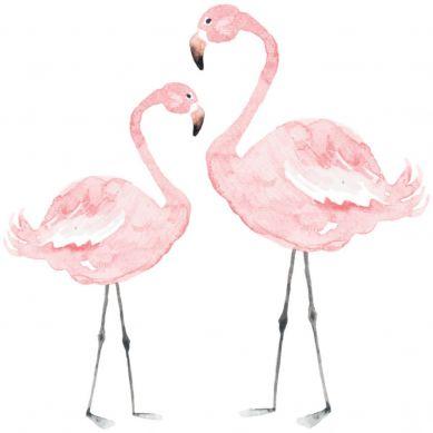 Dekornik - Naklejki Ścienne Flamingi L