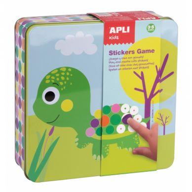 Apli Kids - Zestaw Kreatywny z Naklejkami Zwierzęta