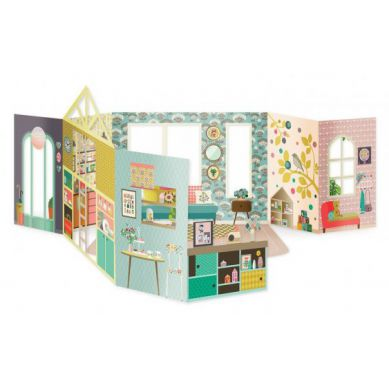 Mon Petit Art - Teatrzyk 3D La Maison Mini Labo 7+