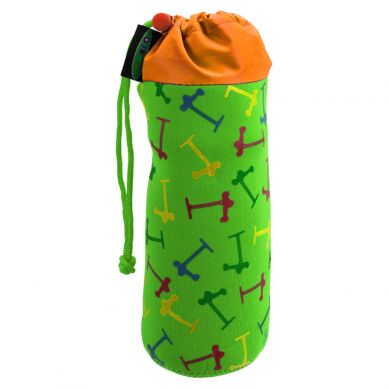 Micro - Pokrowiec Micro na butelkę lub bidon multikolor zielony
