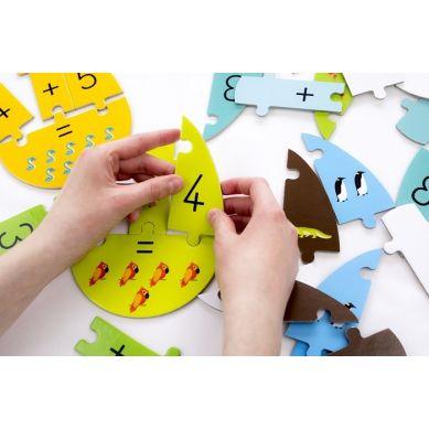 Maka Kids - Puzzle Jajka Matematyczne