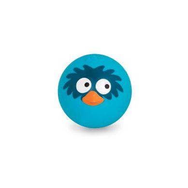 B.Toys - Sprężysta Piłka Wydająca Zabawne Ptasie Odgłosy Niebieska