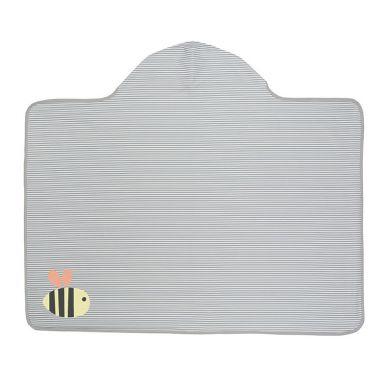 Lassig - Ręcznik z Kapturem 100x70 cm UV 50+ Bumble Bee
