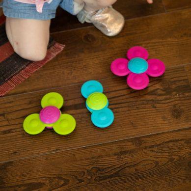 Fat Brain Toys - Wirujące Przyssawki Whirly Squigz
