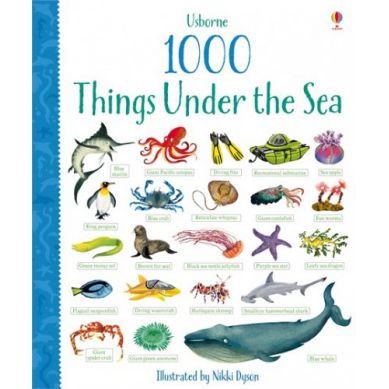 Wydawnictwo Usborne Publishing - 1000 Things Under The Sea