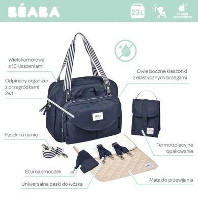 Beaba - Torba dla Mamy Geneva II Blue Marine