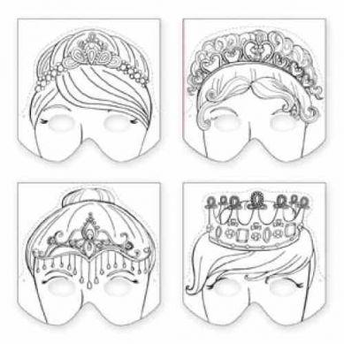 Mudpuppy Maski Księżniczki