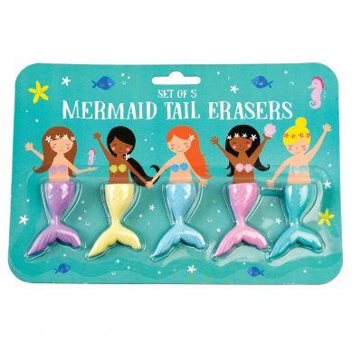 Rex - Zestaw Gumek do Ścierania Mermaid 3+
