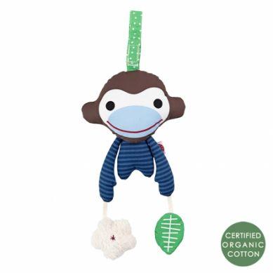 Franck & Fischer - Zabawka Sensoryczna Niebieska Małpka Asger