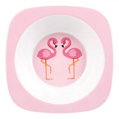 Sunnylife - Miseczka z Melaminy Flamingo