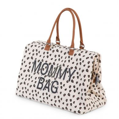 Childhome - Torba Mommy Bag Leopard + Przewijak