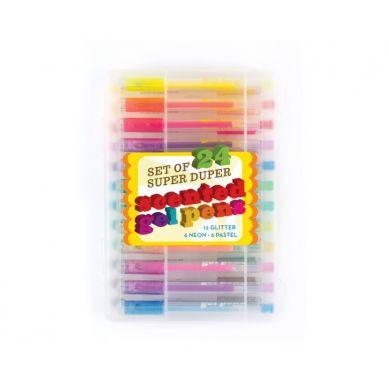 Ooly - Długopisy Żelowe Pachnące Super Duper 24szt 3+