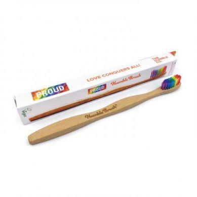 Humble Brush - Bambusowa Szczoteczka do Zębów Proud Version Kolorowa