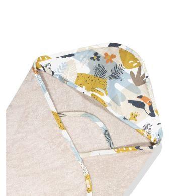 ColorStories - Ręcznik Bawełniany z Kapturem Jungle Beige 72x72cm