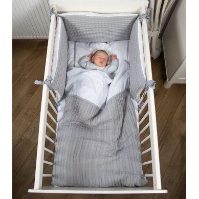 Muzpony - Ochraniacz na boki łóżeczka Malmo