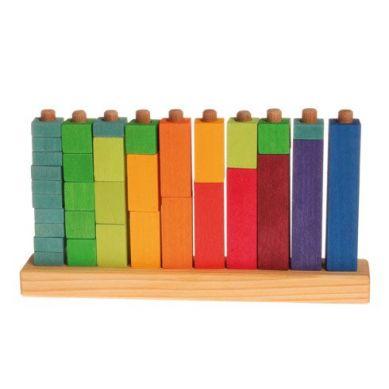 Grimm's - Kolorowe Klocki do Zabawy w Liczenie 3+