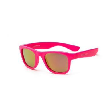Koolsun - Okularki dla Dzieci Wave Neon Pink 3-10 lat