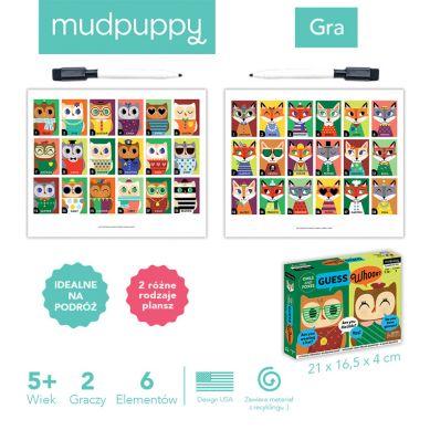 Mudpuppy - Gra Zgadnij Kto to Sowy i Lisy