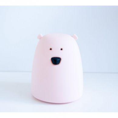 Rabbit&Friends - Lampka Miś Mały Różowy