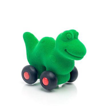 Rubbabu - Dinozaur Pojazd Sensoryczny Zielony Mikro