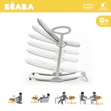 "Beaba - ""Bouncer Up&Down III"" Leżaczek Grey"