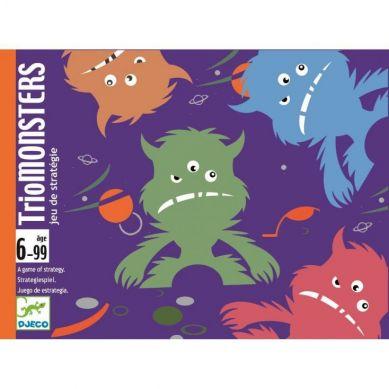 Djeco - Gra Karciana Trio Monsters
