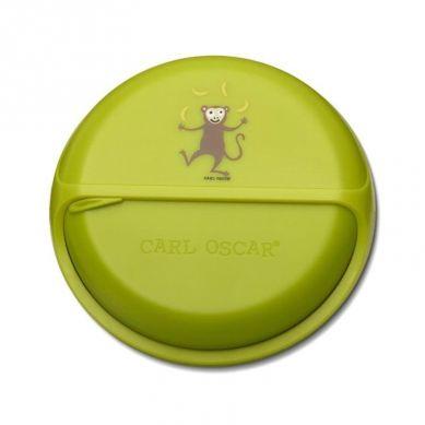 Carl Oscar - Rotable SnackDISC™ 5 komorowy obrotowy pojemnik na przekąski Lime Monkey