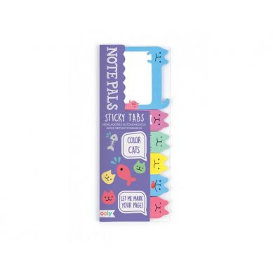 Ooly - Karteczki Samoprzylepne Kolorowe Kotki 90szt