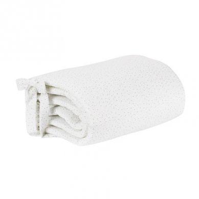 Effiki - Ochraniacz w Kropki Biały Małgosia Socha 30 x 180